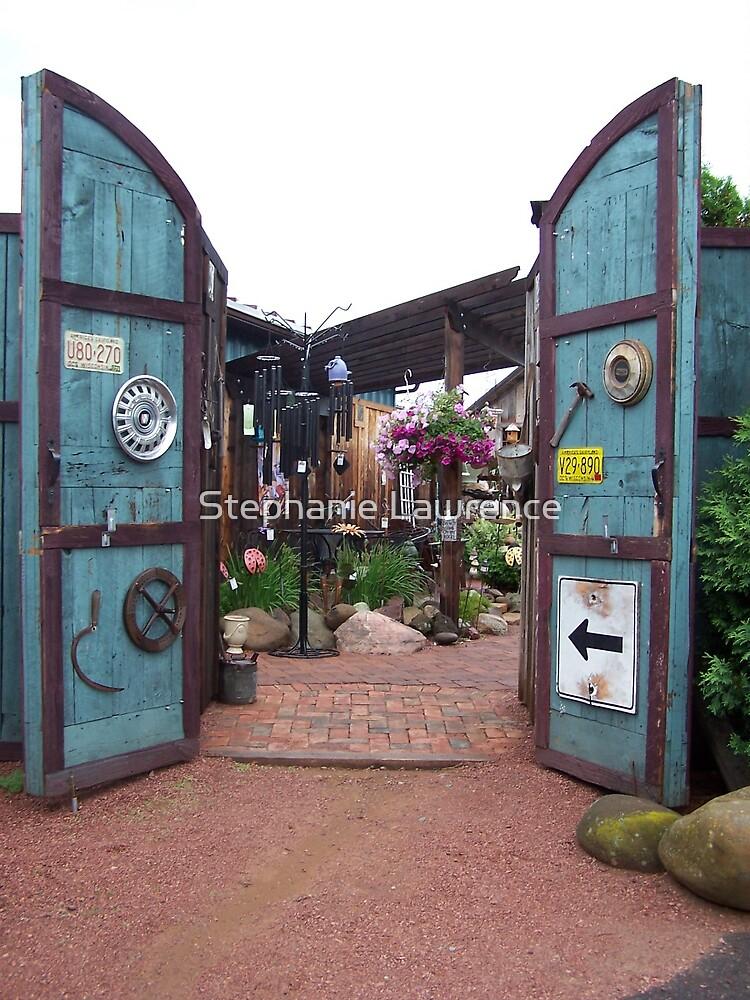 Garden Gates by Stephanie Lawrence