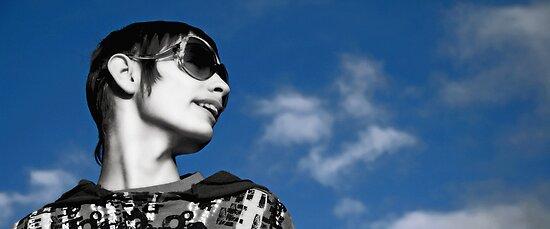 Denny in the sky by Hannah Elizabeth Wells