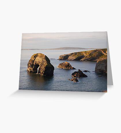 Ballybunnion Coast Greeting Card