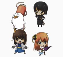 Gintama Sticker Set C by banafria