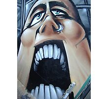 open wide Photographic Print