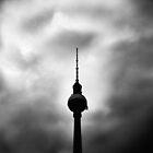 der Fernsehturm by grayscaleberlin