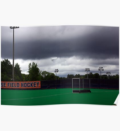 Stormy Game Day Poster