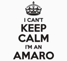 I cant keep calm Im an AMARO by icant