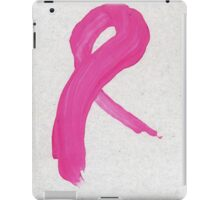 Pink Painted Ribbon iPad Case/Skin