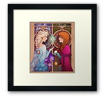 Let Me In - shirt version Framed Print