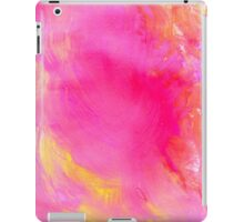 Pink Painted Background iPad Case/Skin