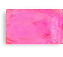 Pink Painted Background 2 Canvas Print