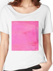 Pink Painted Background 2 Women's Relaxed Fit T-Shirt