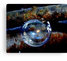 Bubble Ornament Canvas Print
