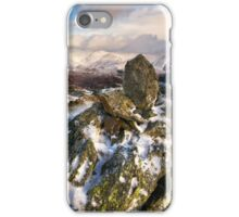 Winters Day In The Easdale Valley iPhone Case/Skin