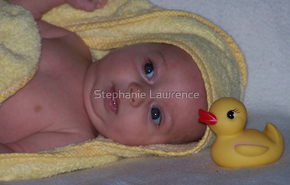 Rubber Ducky by Stephanie Lawrence