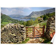 View Of Ullswater Poster