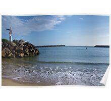 Sea Walls - Dunbogan NSW. Poster