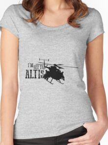 Arma 3 - I'm off to Altis Women's Fitted Scoop T-Shirt