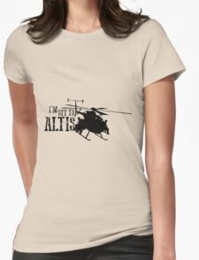 Arma 3 - I'm off to Altis Womens Fitted T-Shirt