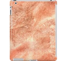Red Colored Paper iPad Case/Skin
