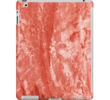 Red Colored Paper 2 iPad Case/Skin