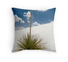 Alone with the Sky Throw Pillow