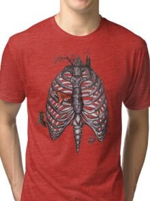 The Cage Tri-blend T-Shirt