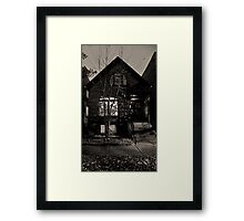 STREET SMART (D'S CRIB) Framed Print