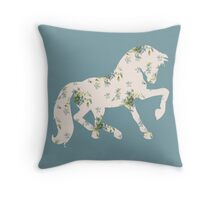 Forget Me Neigh Throw Pillow