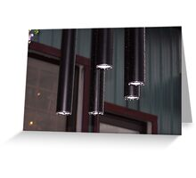 Rained Chimes Greeting Card