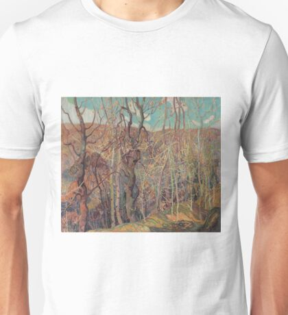 Franklin Carmichael - Silvery Tangle 1921 Unisex T-Shirt