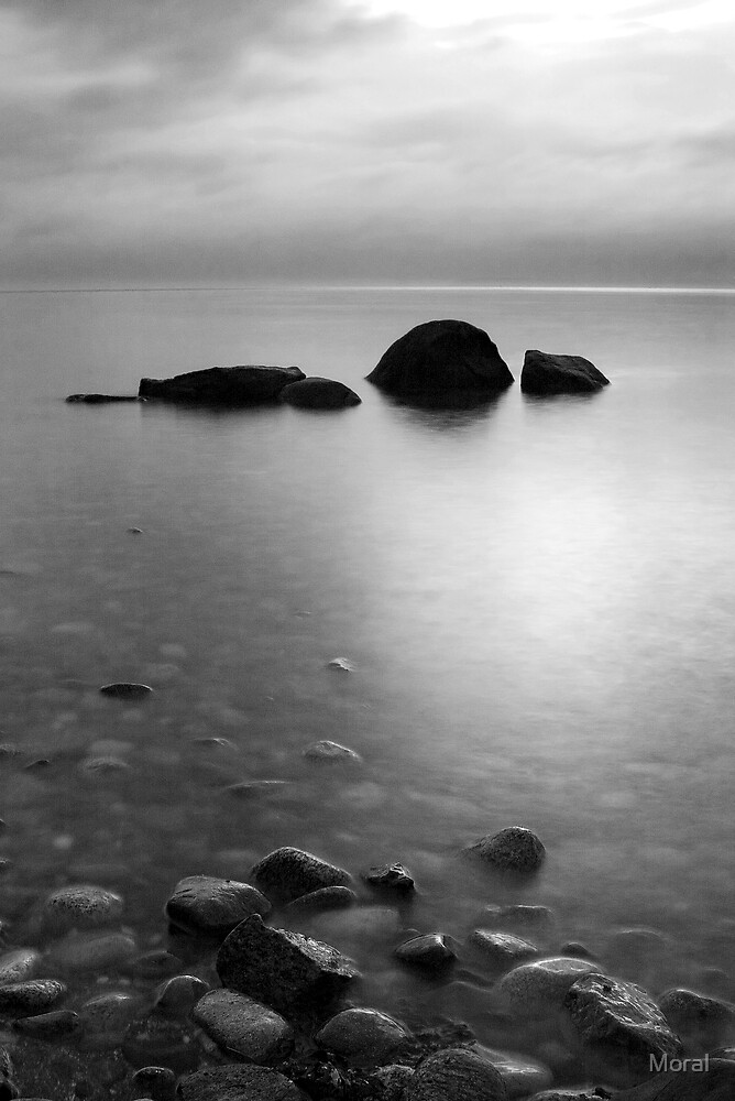 Rocks in Black and White by Ryan Watts