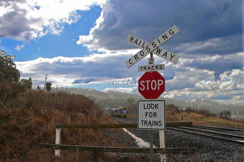 Watch For Trains by rossco