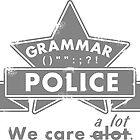 Grammar Police by piedaydesigns