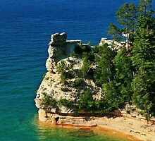 Pictured Rocks Lake Superior -Michigan by Scott Denny