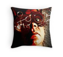 MAD AM I Throw Pillow