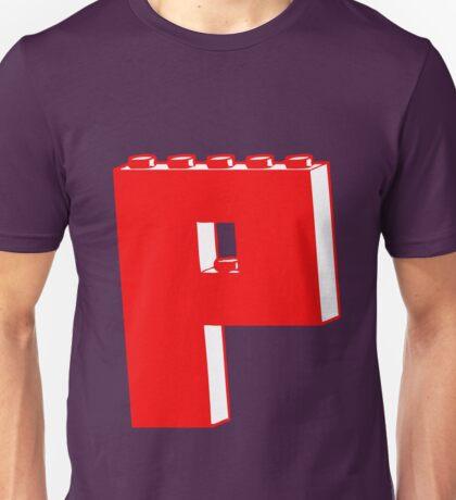 THE LETTER P  Unisex T-Shirt