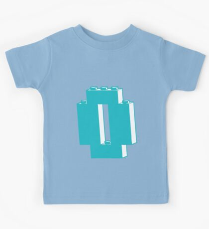 THE LETTER O Kids Tee