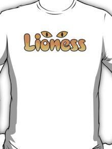 Lioness lion woman with cats eyes T-Shirt