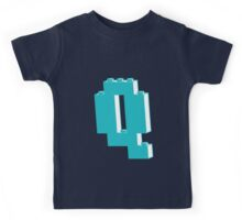 THE LETTER Q  Kids Tee