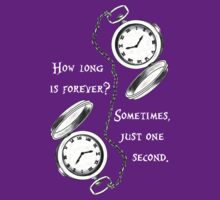 Forever is just a second  by QueenMycroft