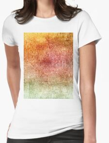 Red Yellow Green Gouache 2 Womens Fitted T-Shirt
