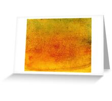Red Yellow Green Gouache 3 Greeting Card