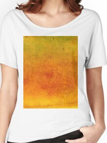 Red Yellow Green Gouache 3 Women's Relaxed Fit T-Shirt