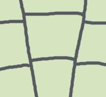 Trilobite Boy Fan Sticker