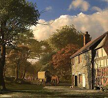 Pastoral Homestead by Dominic Davison
