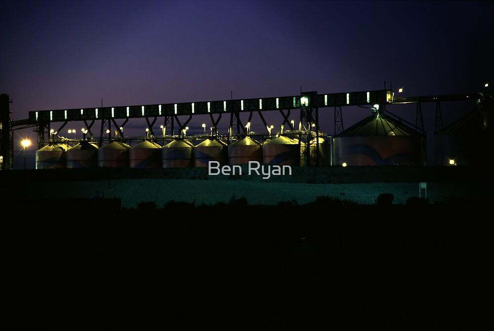 On the docks by Ben Ryan