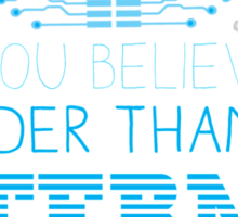 Can you believe it? I am older than the INTERNET new Sticker