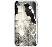 Crow Celtic Cross iPhone Case/Skin