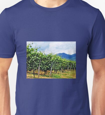 Tuscan Vineyard Unisex T-Shirt