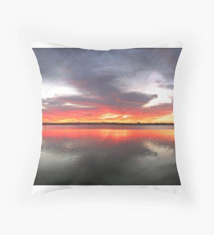 Perth Rowing Club Throw Pillow