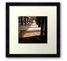 High Tide - Please view larger     ^ Framed Print