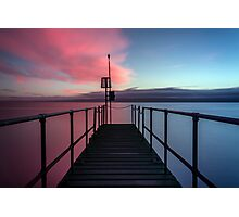 Pink or blue? Photographic Print